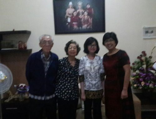 Sowan ke Kediaman Dr. Lucia Kris Dinarti, SpPD, SpJP