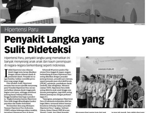 Koran Jakarta 01/10/18 – Penyakit Langka yang Sulit Dideteksi