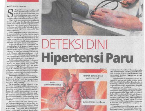 Koran Republika 10/10/18 – Deteksi Dini Hipertensi Paru