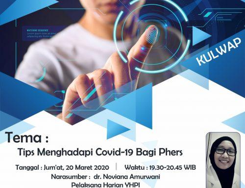 KULWAPP (KULIAH WHATSAPP) Tips-Menghadapi-Covid-19 Bagi-PHers