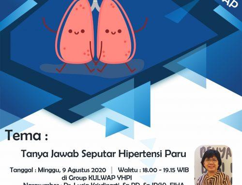 KULIAH -WHATSAPP– (kulwapp) -Tema : – Tanya-Jawab -Seputar- Hipertensi -Paru