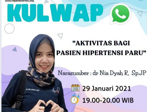 KULWAP (KULIAH WHATSAPP)- Aktivitas Fisik Bagi Pasien Hipertensi Paru